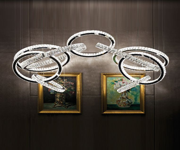 LED Modern Chandelier -ES-MX7030-2m