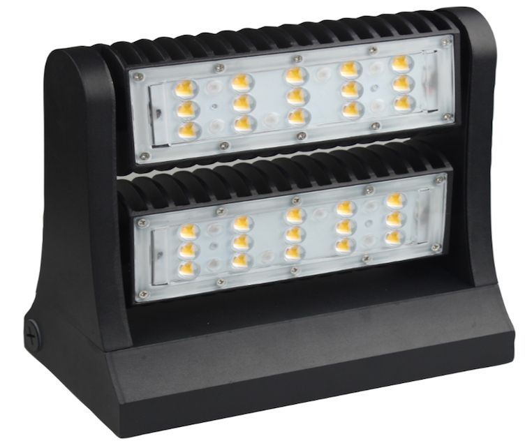 Rotatable Wall Pack Light - 80W